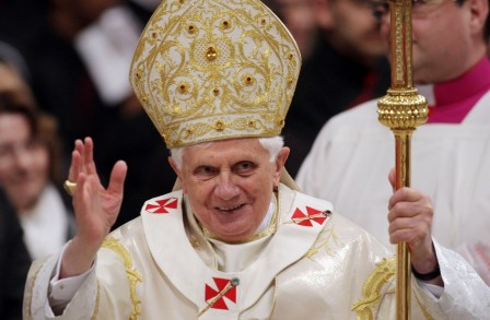 Pope Celebrates Solemnity Of The Epiphany